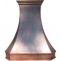 Buy cheap Handcrafted copper kitchen range hood mantle product