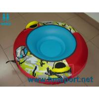 China manufacture snow tube, snow tubing hardbottom nylon cover river tube ski tube,inflatable boating on sale