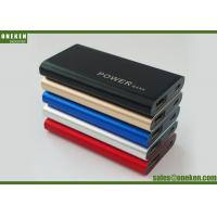 Buy cheap 2000mAh Mirror Power Bank Mobile Phone Charger Battery , 6.8 * 54 * 90mm product