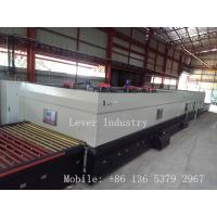 China LV-TFQ Series Forced Convection Glass Toughening machine / Glass Tempering Furnace for low-e glass on sale