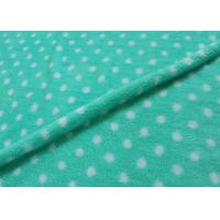 Buy cheap 28 Needles Density Printed Polar Fleece Fabric , Kids Fleece Fabric Waterproof product