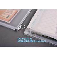 Buy cheap portable transparent flat bottom slider ziplock bag for cosmetic, Food grade Coex PP Slider Zipper bag, PVC Slider Zippe product