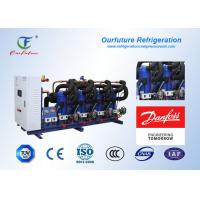 China Danfoss Refrigeration Compressor Unit , Small Cold Storage Refrigeration Condensing Unit on sale