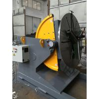 Buy cheap Welding Positioner Turning Table Use 500 Diameter Welding Chuck , Loading Capacity 1200Kg Export Russia product