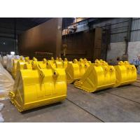 Custom Size Excavator Digging Bucket 0.4-8m3 Capacity Q345B Material For Backhoe