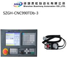 Economic 64MB CNC990TDb three Axis controller Lathe & Turning 8.4 inch displayer