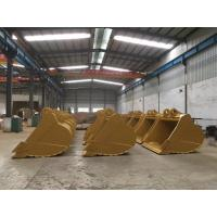 Buy cheap Mining Use 13 Ton Excavator Buckets , Mini Excavator Cleanout Bucket 0.4-3 Cubic Meter product