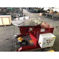 Buy cheap Welding Rotating Table 1000kg Welding Positioners Remote Hand Control Box product