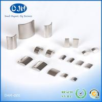 Buy cheap Nickel / Zinc Plating Neodymium Arc Magnets N35 - N52 Grade NdFeB Material product