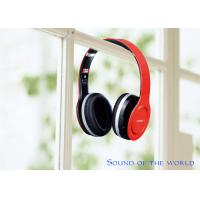 Buy cheap HF680S Foldable Four Channels Wireless Stereo Bluetooth Headphone V4.0 Red & Black product