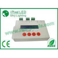 China SD Card DMX LED Pixel Controller Lightweight For LED Decoder 110V / 220V on sale