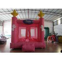 Buy cheap Colourful Custom Inflatable Big Bouncy Castle Kids Indoor Inflatable Bouncer Fire Resistance PVC product