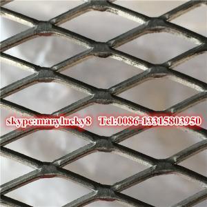 O aço suave expandiu a folha de metal expandida preto de /Iron da malha do metal
