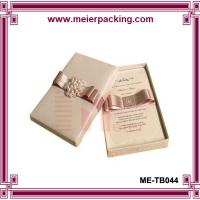 Buy cheap Gift Paper Boxes,Present Packing Boxes,Wedding Favor Jewelry Box ME-TB044 product