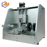 Buy cheap nameplate gold ring brass plate engraving machine with rotary axis for sale product