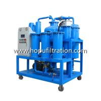 Buy cheap Hot Sale Vacuum Turbine Oil Purification Plant, Lubricant Oil Treatment Machine from wholesalers