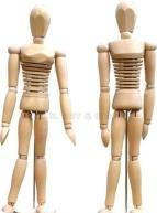 Buy cheap Flexible Wood Manikin product