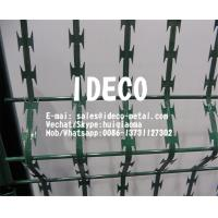 Buy cheap Straight Line Razor Wire Welded Mesh Panels, Welded Razor Mesh Fencing, Barbed Razor Mesh Fences product