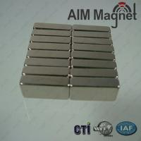 Buy cheap Strong Sintered Ndfeb Magnets Block 1.7x4x5 mm N50 product