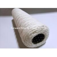 Buy cheap PP / Punching Pipe Yarn String Wound Winding Industrial Filter Cartridge For Household Or Industrial Filtering product