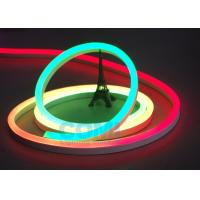 Buy cheap 24V Multi  RGB Color Neon LED Strip Lights Waterproof For Contour Profile Holiday Decoration product