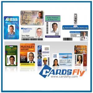 Buy cheap custom plastic id cards product