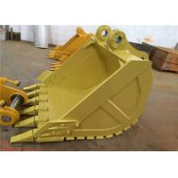 Buy cheap Q345 Steel Cat 330 Excavator Bucket , Heavy Duty Backhoe Rock Bucket product
