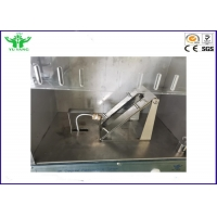 Buy cheap 0.01s-99.99s 45 Degree Textiles Automatic Flammability Testing Equipment product