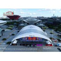 Buy cheap Customized Indoor Sport Event Tents, Large clear span 60m aluminum and pvc tent for sports hall, sports event tent product
