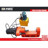 Buy cheap C type portable hydraulic track link pin press machine for excavator&bulldozer product