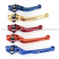 Buy cheap CNC Milled Motorbike Brake Levers / Long Style Clutch And Brake Levers For Street Bikes product