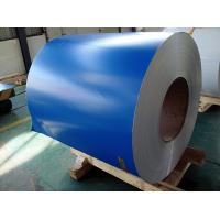 Buy cheap PE PVDF Paint Aluminium Colour Coated Coils , Color Coated Coil Thickness 0.20-3.00mm product