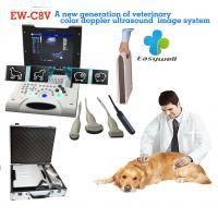 Buy cheap Laptop Color Doppler ultrasound system EW-C8V with convex probe for veterinary with specialty obstetric measurement soft product