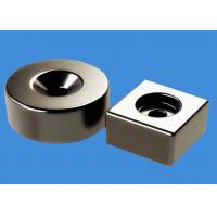 China RoHS Countersunk Hole NdFeB Ring Magnets Block Magnets Custom Made on sale