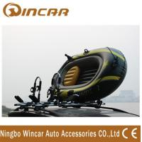 China Foldable Roof-mount Metallic-white T style Kayak Roof Carrier rack carring 2 canoe on sale