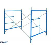Buy cheap Safety Access Shoring Scaffolding Systems / Frame Scaffolding System Convenience from Wholesalers