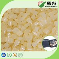 Buy cheap Light  Granule solid EVA resin Viscosity Resin Side Bookbinding Hot Melt Glue Yellowish Color For Coated Paper product