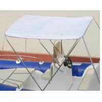 China Removable Inflatable Boat Accessories Small Boat Bimini Top With Stainless Steel Frame on sale