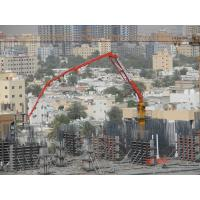 Buy cheap 4 Sections Boom Stationary Concrete Placing Boom Φ133×4 Delivery Pipe Dimension product