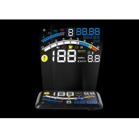 Buy cheap Car Led Hud 4e Mini Head Up Display Obd2 Interface 5.5 Inch Auto Power On / Off product