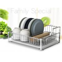 Buy cheap Tableware Ss Kitchen Rack , High Performance Solid Stainless Steel Racks For Storage product