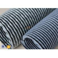 Buy cheap 6 Grey PVC Coated Fiberglass Fabric Flexible Air Duct For Fume Extraction product