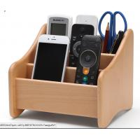 Buy cheap Decorative Wood  Desk Organizer For Home Remote Controls / Phone product
