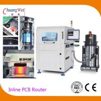 Buy cheap Automatic Production Mode Inline PCB Separators With Automatic Tool Changer product