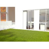 Buy cheap Size Customize Artificial Turf Grass Dark / Light Green For Landscaping product