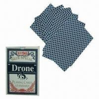 Buy cheap Playing cards with 270gsm gray core paper and 280gsm blue core paper materials product