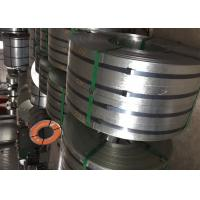 Buy cheap Regular Spangle Polished Stainless Steel Strips Z40-Z600 EN10346 Construction product