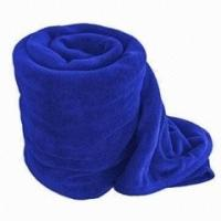 Quality Wearable Solid Color Polar Custom Fleece Blankets Wholesale Full Size / King Size for sale
