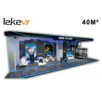 Buy cheap 9D Virtual Reality Experience VR Theme Park / Indoor Amusement Park Equipment product