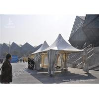 Buy cheap Water Resisting Events High Peak Tents Transparent PVC Fabric Windows from Wholesalers